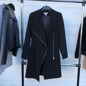 Go-to black trench coat